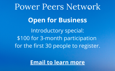 Now is the Time for Power Peers