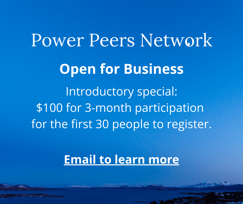 Launch Power Peers Network