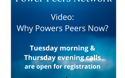 Why Power Peers Now
