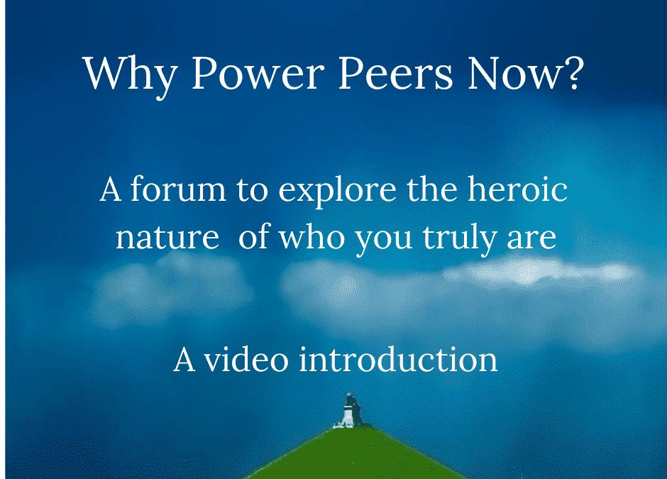 Why Power Peers Now?